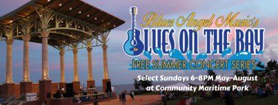 Blues on the Bay Summer Concert Series Pensacola Florida